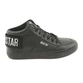 Sneakers alte nere Big Star 274351 nero