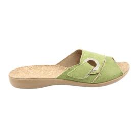 Befado scarpe da donna pu 265D008 verde