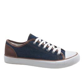 Marina Sneaker da uomo blu navy DD50-40