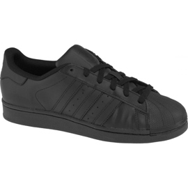 Nero Scarpe Adidas Superstar J Foundation Jr B25724