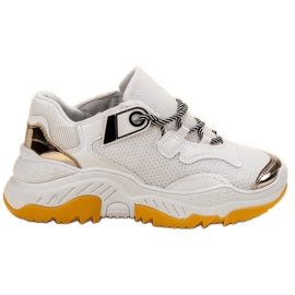 Small Swan Sneakers da donna bianche bianco