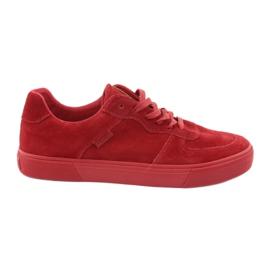 Big Star rosso Sneakers grandi Stella rossa 174364