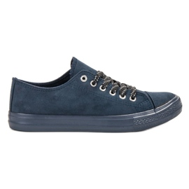 McKey Sneakers comode blu scuro marina