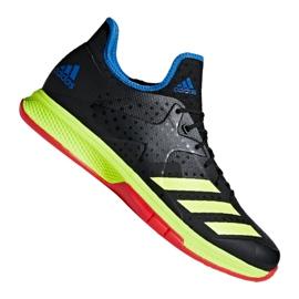 Scarpe da pallamano Adidas Counterblast Bounce M BD7408 nero nero, giallo
