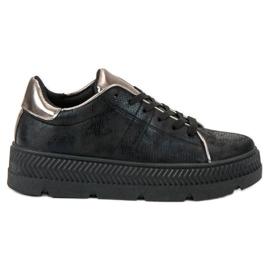 Bestelle nero Scarpe sportive sulla piattaforma