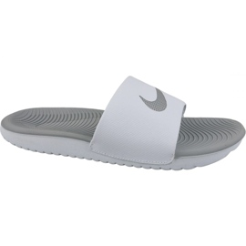 Bianco Pantofole Nike Kawa Slide 834588-100