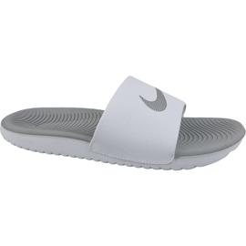Pantofole Nike Kawa Slide 834588-100 bianco