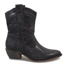 Grigio Stivali da cowgirl grigi 10601-1