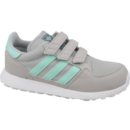 Grigio Scarpe Adidas Originals Forest Grove Cf Jr CG6709