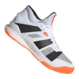 Scarpe Adidas Stabil X Mid M F33827 bianco bianco