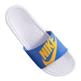 Pantofole Nike Benassi Jdi Print 631261-104 blu