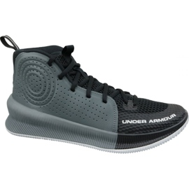 Scarpe da basket Under Armour Jet M 3022051-001 nero multicolore