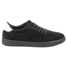 Ideal Shoes nero Calzature stringate nere