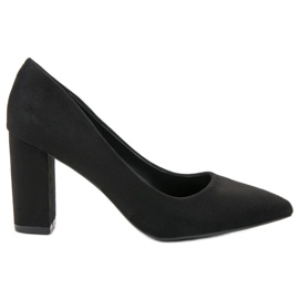 SHELOVET nero Pumps in pelle scamosciata