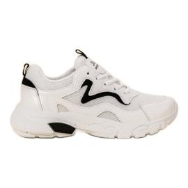 SHELOVET bianco Scarpe sportive stringate