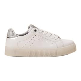 SHELOVET bianco Scarpe sportive bianche