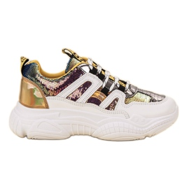 Ax Boxing Sneakers con paillettes