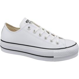 Converse Chuck Taylor All Star Lift Bue pulito W 561680C bianco
