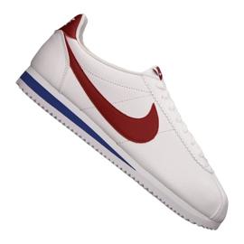 Bianco Scarpe Nike Classic Cortez in pelle M 749571-154