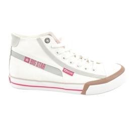 Sneakers da uomo Big Star 174080 bianche