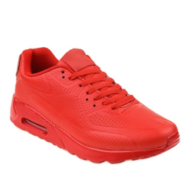 Calzature sportive da uomo rosse rosso