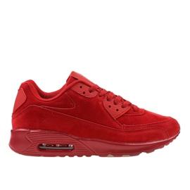 Calzature sportive da uomo rosse 55109-2 rosso