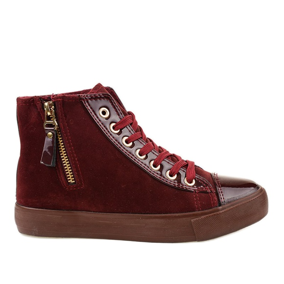Sneakers alte rosse JX-95 rosso