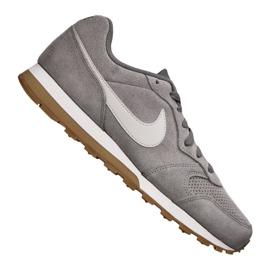 Grigio Scarpe Nike Md Runner 2 Suede M AQ9211-002