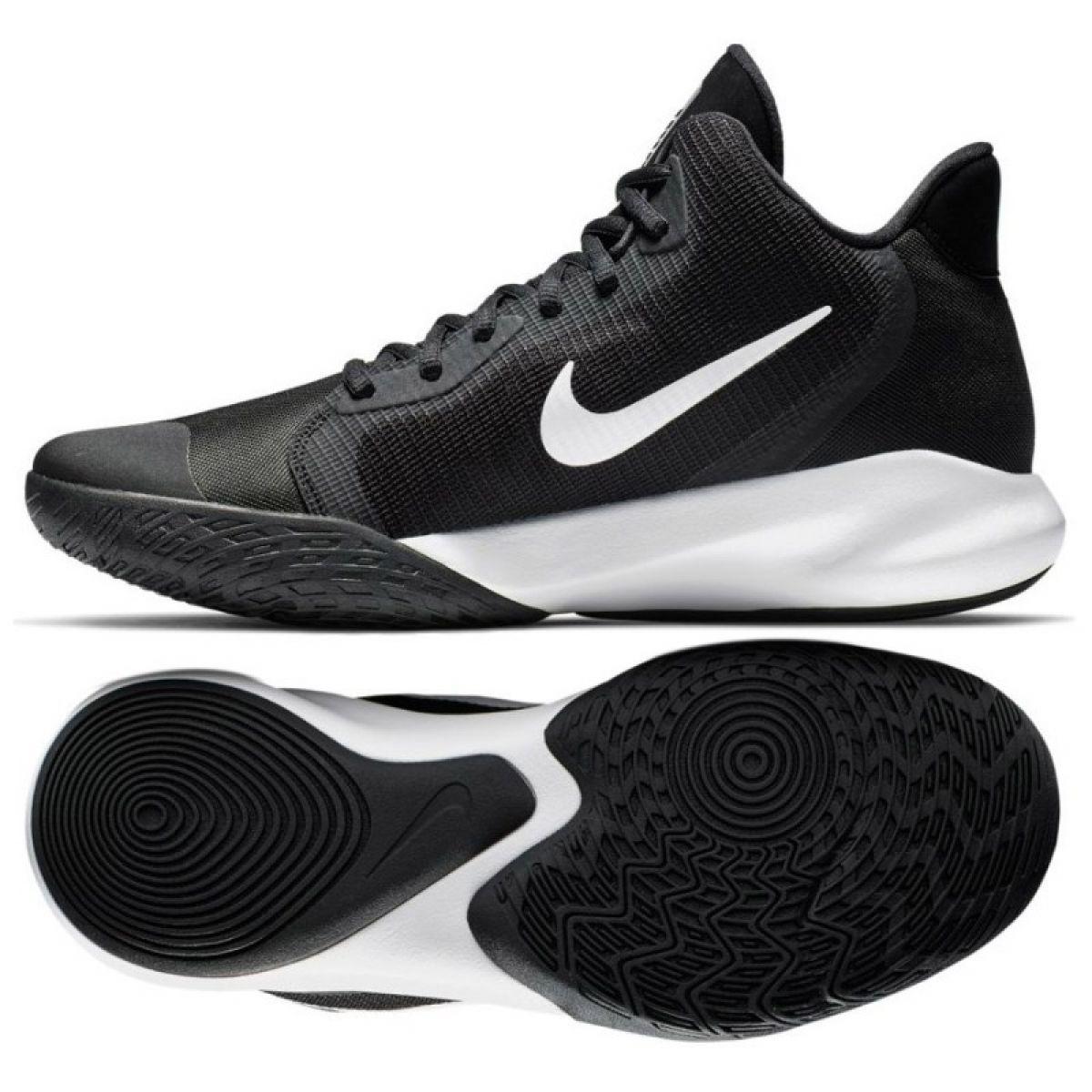 sito affidabile 9b408 c3844 Scarpe da basket Nike Precision Iii M AQ7495 002 nere