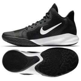 Scarpe da basket Nike Precision Iii M AQ7495 002 nere nero nero
