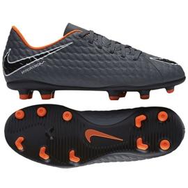 Scarpe da calcio Nike Hypervenom Phantom Iii Club Fg Jr AH7290-081 grigie