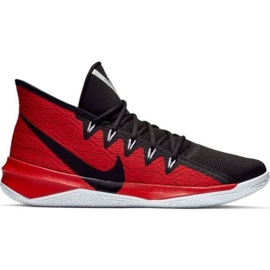 Scarpe Nike Zoom Evidence Iii M AJ5904 001 nere e rosse nero, rosso rosso