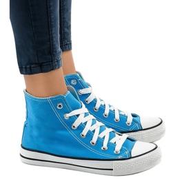 Sneakers alte classiche blu DTS8224-16