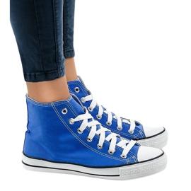 Sneakers alte classiche blu DTS8222-14