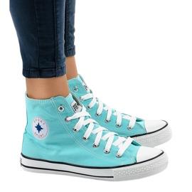 Sneakers alte classico menta DTS8224-13