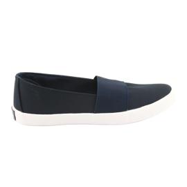 Sneakers da donna American Club blu navy marina