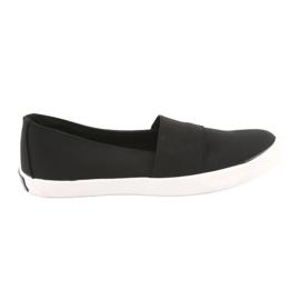 Nero Sneakers senza lacci da donna American Club nere