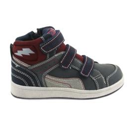 Marina Sneakers alte American Club ES27 blu scuro