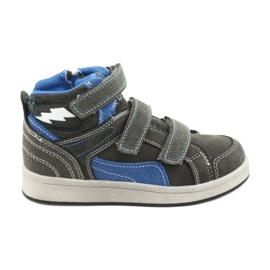 Grigio Sneakers alte American Club ES27 grigie