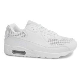 Bianco Sneakers alte W-26 bianche