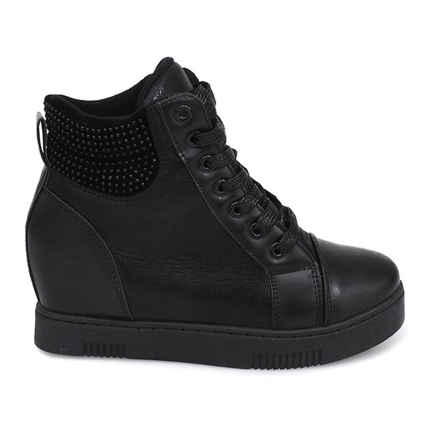 huge selection of 534a8 d0f80 Sneakers con zeppa 1651 Nero