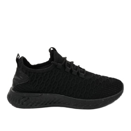 Scarpe sportive nere BF102 nero