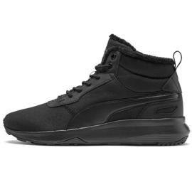 Nero Puma Activate Mid Wtr M 369784 01 scarpe nere