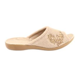 Le scarpe da donna Befado possono durare fino a 256D013 marrone