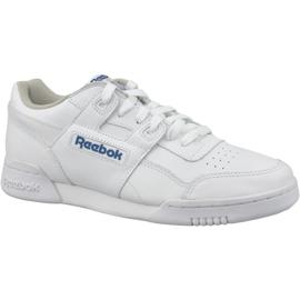 Bianco Scarpe Reebok Classic Workout Plus M 2759