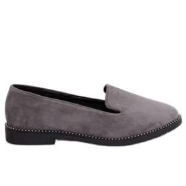Mocassini grigi lords grigi N90 Grey grigio