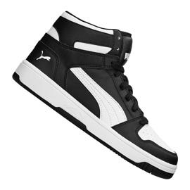 Nero Scarpe da ginnastica Puma Rebound LayUp Jr 370486 01