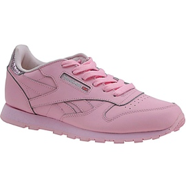 Scarpe Reebok Classic Leather Metallic Jr BD5898 rosa