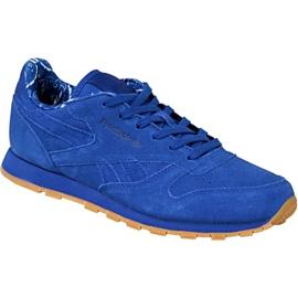 Blu Scarpe Reebok Classic Leather Tdc Jr BD5052