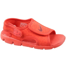 Rosso Sandali Nike Sunray Adjust 4 Ps Jr 386518-603